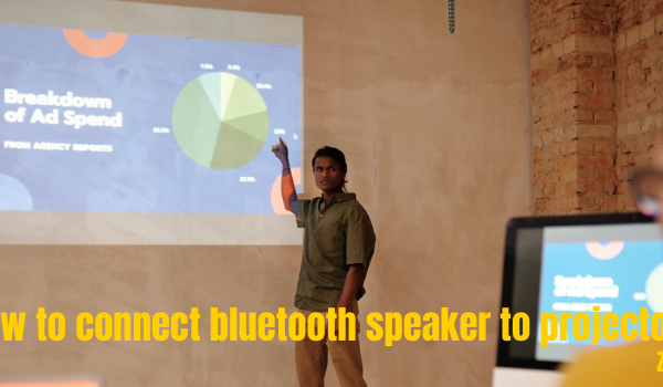 How to connect bluetooth speaker to projector
