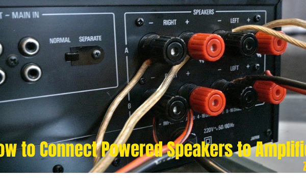 How to Connect Powered Speakers to Amplifier