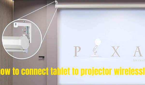 How to hang a projector screen on the wall